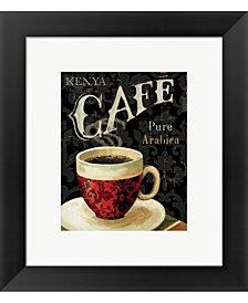 Todays Coffee I by Lisa Audit Framed Art