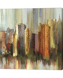 Metropolis II By Tom Reeves Canvas Art