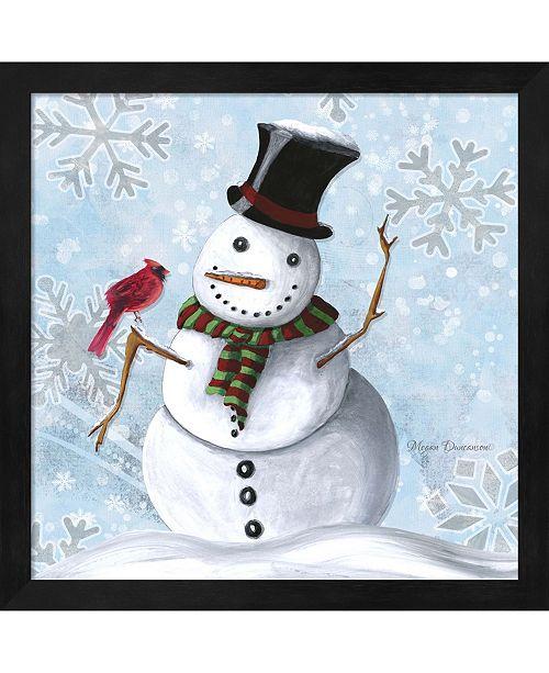 Metaverse Winter Cheer 1 By Megan Duncanson Framed Art