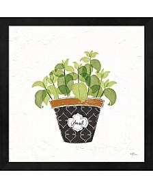 Fine Herbs VIII By Janelle Penner Framed Art