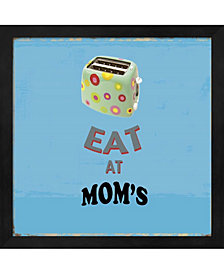 Eat at Moms by Posters International Studio Framed Art