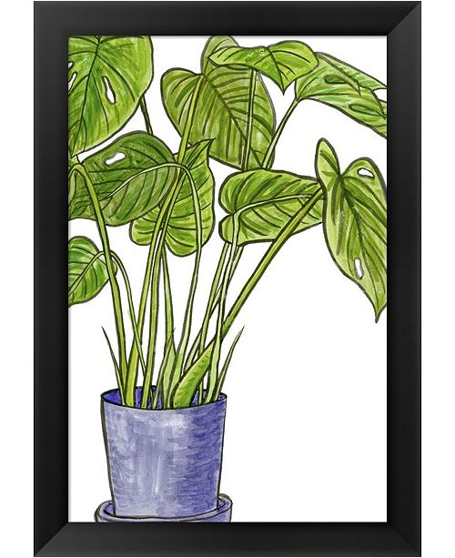 Metaverse Potted Jungle III By Melissa Wang Framed Art