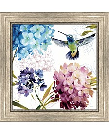 Spring Nectar Squar3 By Lisa Audit Framed Art