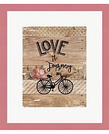 Love the Journey by Jo Moulton Framed Art