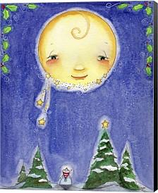 Holiday Moon By Jennifer Nilsson Canvas Art