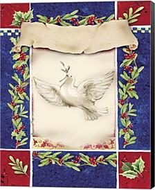 Mistletoe Holiday Do By Dbk-Art Licensing Canvas Art