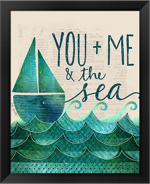 Metaverse You Me The Sea By Katie Doucette Framed Art