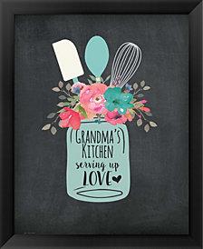 Grandmas Kitchen By Jo Moulton Framed Art