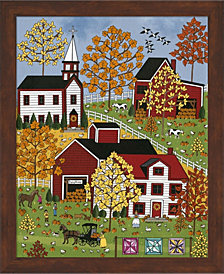 Autumn Blessings By Medana Gabbard Framed Art