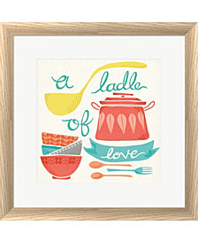 A Ladle of Love by Mary Urban Framed Art