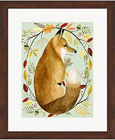 Autumn Wreath II by Grace Popp Framed Art