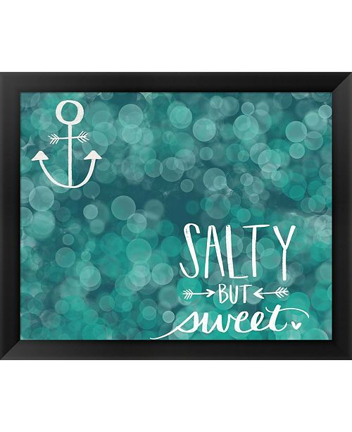 Metaverse Salty Sweet By Katie Doucette Framed Art