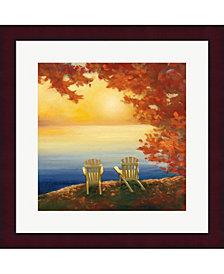Autumn Glow Ii By Julia Purinton Framed Art