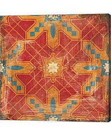 Moroccans Tile II V2 By Cleonique Hilsaca Canvas Art