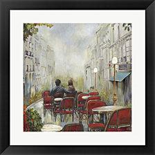 Paris Cafe by Posters International Studio Framed Art