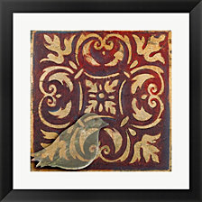 Moroccan Bird Ii By Patricia Pinto Framed Art