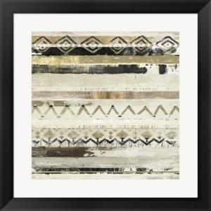 African Patchwork I By Tom Reeves Framed Art