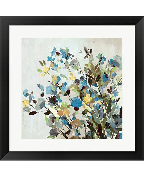 Metaverse Spring Flowers By Allison Pearce Framed Art