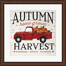 Autumn Harvest By Jennifer Pugh Framed Art