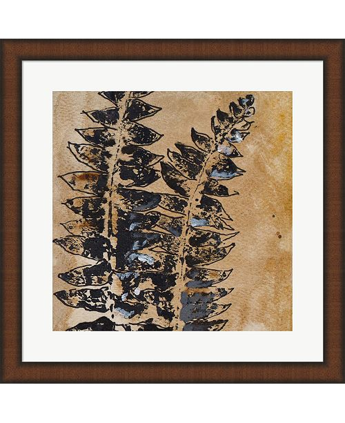 Metaverse Watercolor Leaves Square Iii By Patricia Pinto Framed Art