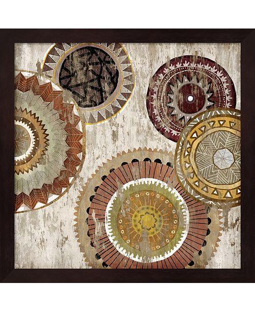 Metaverse Native Circle Ii By Edward Selkirk Framed Art
