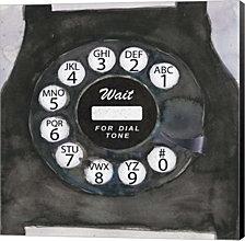 Phoning I by Sam Dixon Canvas Art