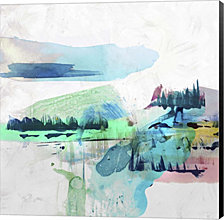 Palette Landcape II by PI Galerie Canvas Art