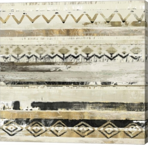 African Patchwork Ii By Tom Reeves Canvas Art