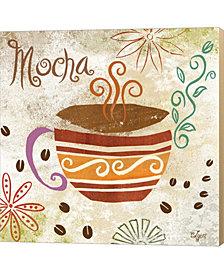 Colorful Coffee I by Rebecca Lyon Canvas Art
