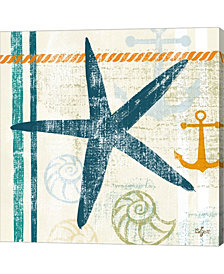 Nautical Brights III By Rebecca Lyon Canvas Art