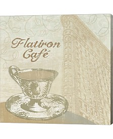 Flatiron Cafe By Erin Clark Canvas Art