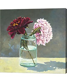 Moms Mason Jar By Jerry Cable Canvas Art