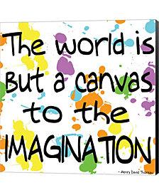 The World Is But A C By Louise Carey Canvas Art