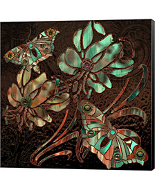 Copper Butterflies By Mindy Sommers Canvas Art