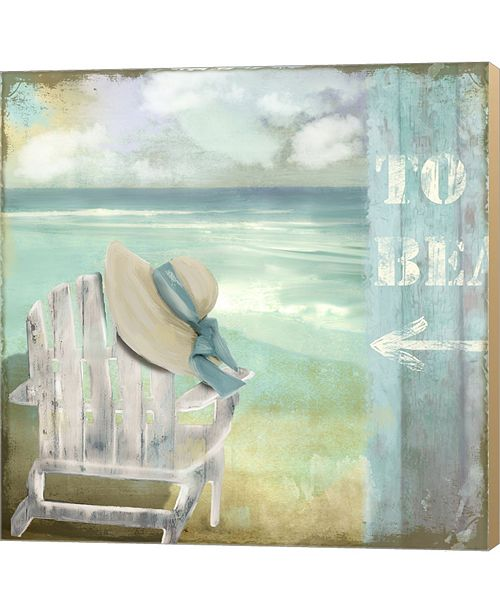 Metaverse By The Sea I By Color Bakery Canvas Art