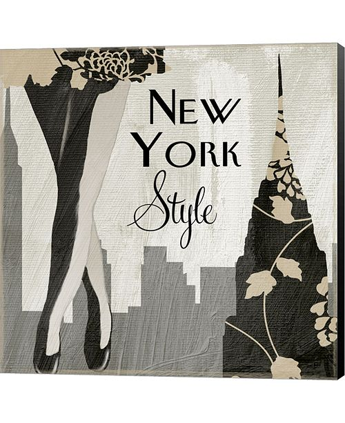 Metaverse New York Style I By Color Bakery Canvas Art