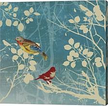 Blue Bird Ii By Posters International Studio Canvas Art