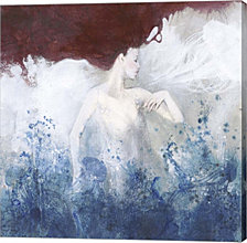 Mermaid By Erica Pagnoni Canvas Art
