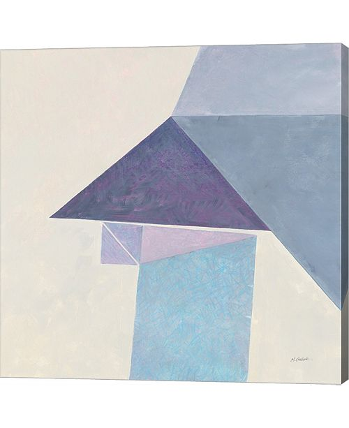 Metaverse Paper Work Ii By Mike Schick Canvas Art