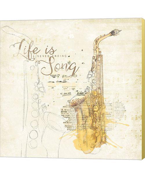 Metaverse Musical Gift Ii By Katie Pertiet Canvas Art