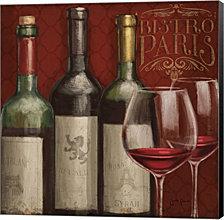 Bistro Paris III by Janelle Penner Canvas Art