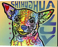 Chihuahua Luv by Dean Russo Canvas Art