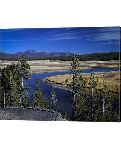 Metaverse Yellowstone River By J.D. Mcfarlan Canvas Art