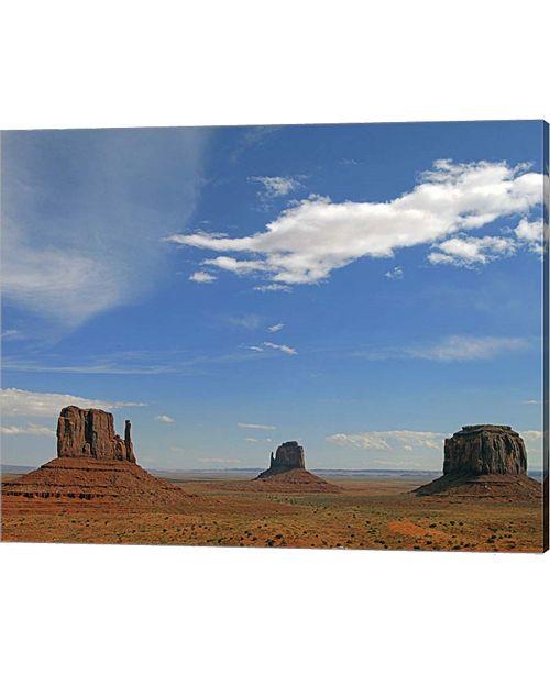 Metaverse Monument Valley By J.D. Mcfarlan Canvas Art