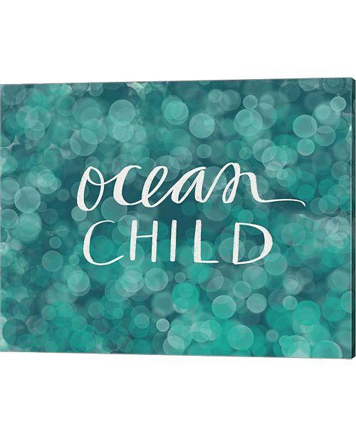 Metaverse Ocean Child By Katie Doucette Canvas Art