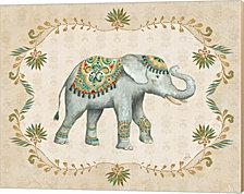 Elephant Walk IV by Daphne Brissonnet Canvas Art