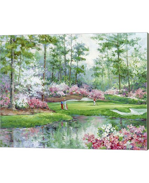 Metaverse On The Green By Barbara Mock Canvas Art