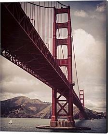 Golden Gate By Lance Kuehne Canvas Art