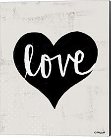 Love Heart By Katie Doucette Canvas Art