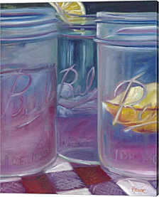Lemonade Most Refreshing Drink By Marnie Bourque Canvas Art